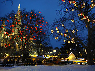 The Stadthaus Christmas Market in Vienna