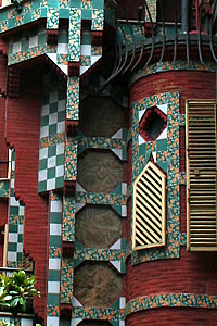 Detail from the Casa Vicens