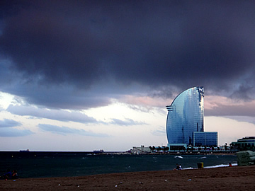 waterfront barcelona