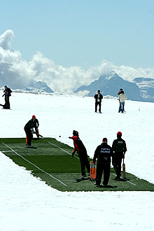 Cricket on the Jungfraujoch