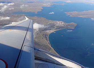 flying into punta arenas