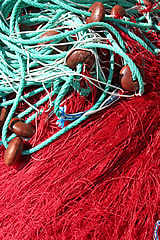 centuri Port - fishing nets