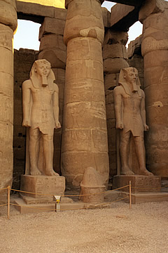 The colonnade, the Temple of Luxor