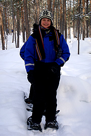 snowshoeing expedition