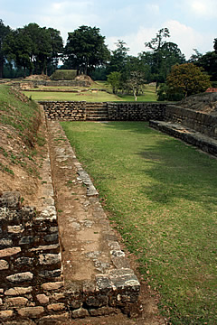 Iximche ball court