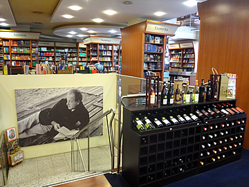 budapest books and wine