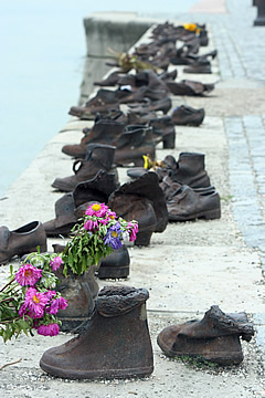 Budapest Shoes on the Danube
