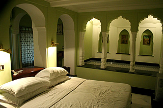 Jaipur - the Samode Haveli