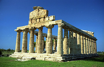 The Temple of Ceres, Paestum