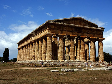 The Temple of Neptune, Paestum