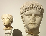 Bust of Nero, Rome, Italy