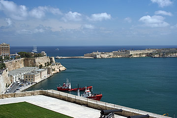Grand Harbour entrance, Valletta