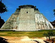 Uxmal: Pyramid of the Sorcerer