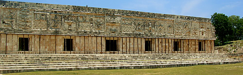 Uxmal Quadrangle of the Nuns