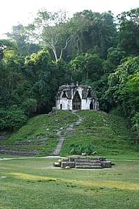 mexico palenque temple of the foliated cross