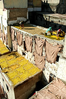 The Chouwara Tanneries