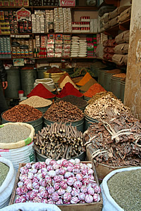 colourful spices