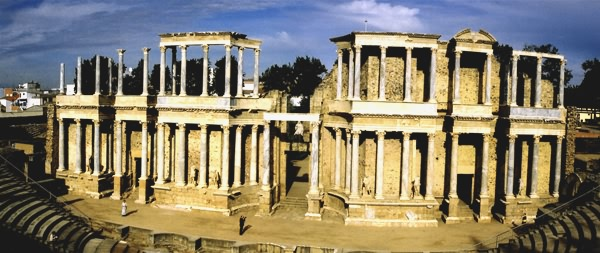 The Roman Theatre, Merida
