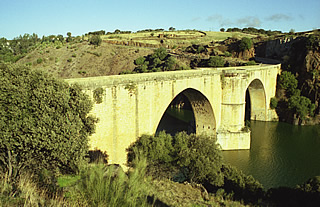 Roman Bridge at Almaraz
