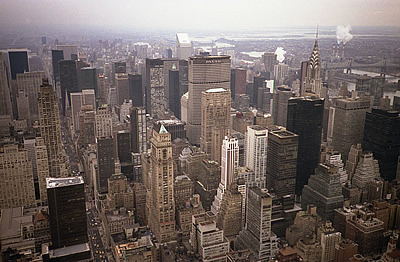 from Empire State building