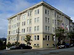 San francisco pacific heights hotel drisco