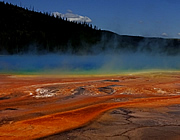 Yellowstone NP - Midway Geyser Basin: Grand Prismatic Spring
