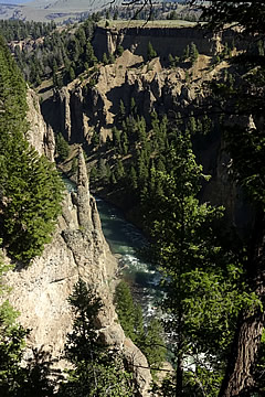 Yellowstone River The Narrows