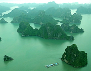 Vietnam: seaplane to Halong