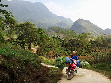northern vietnam muong village