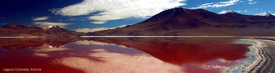 The Silk Route World Travel: Laguna Colorada, Bolivia