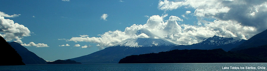 The Silk Route - World Travel: Lake Todos los Sanotos, Chile