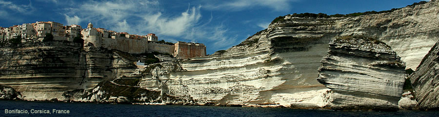 The Silk Route - World Travel: Bonifacio, Corsica, France