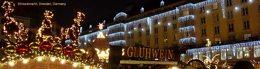 The Silk Route - World Travel: Dresden at Christmas, Germany