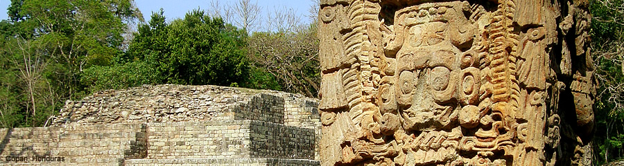 The Silk Route - World Travel: Copan, Honduras
