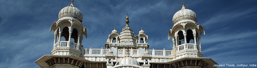 The Silk Route - World Travel: Jaswant Thada, Jodhpur, India
