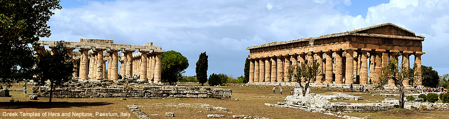 The Silk Route - World Travel: Paestum, Italy