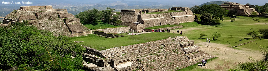 The Silk Route - Monte Alban, Mexico