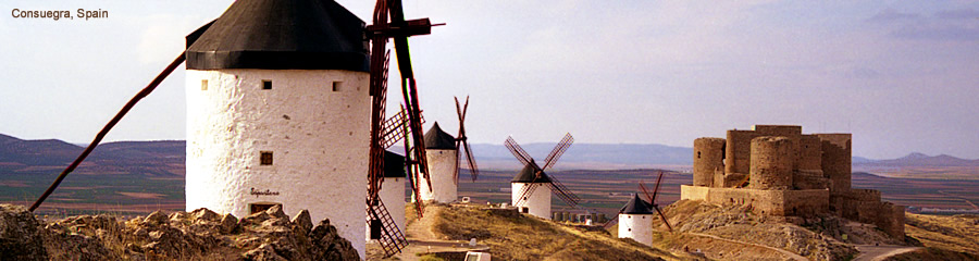 The Silk Route - World Travel: Consuegra, Spain