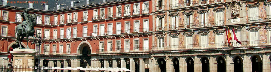 The Silk Route - World Travel: Plaza Mayor, Madrid, Spain