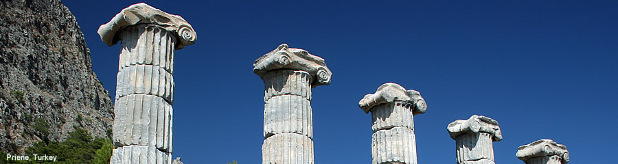 The Silk Route - World Travel: Priene, Turkey