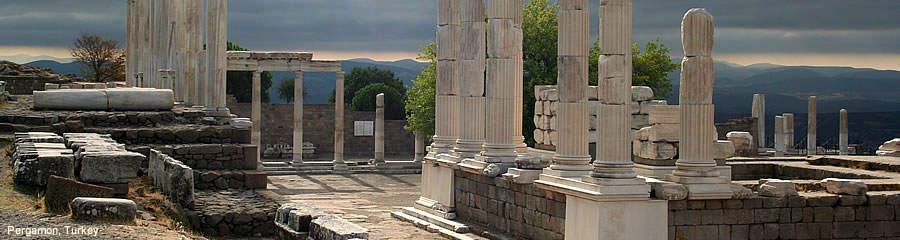 The Silk Route - World Travel: Pergamon, Turkey