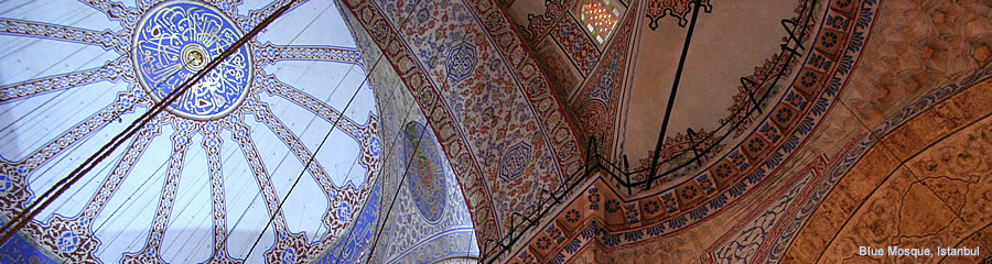 The Silk Route - World Travel: Blue Mosque, Istanbul, Turkey
