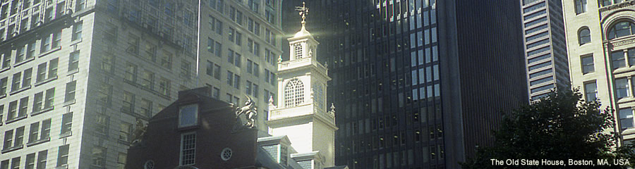 The Silk Route - World Travel: The Old State House, Boston, MA, USA