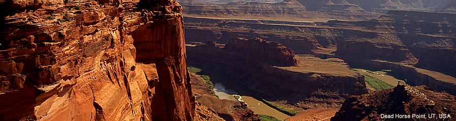 The Silk Route - World Travel: Dead Horse Point, Utah, USA